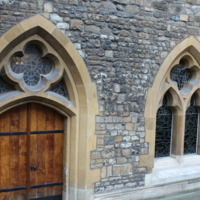 St. Etheldreda's Chapel - Crypt Doors