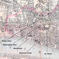 Blackfriars Map