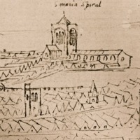 St Mary Spital (drawing)