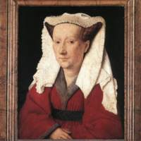 Margaret, the Artist's Wife (by van Eyck, at the National Gallery, London)