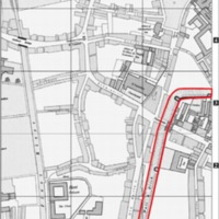 Map of Chalice found on London Wall