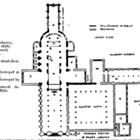 St. Bartholomew the Great Church (Floor plan)