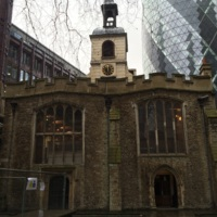 St Helen's Bishopsgate (as it appears in 2015)