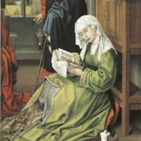 The Magdalen Reading (by van der Weydan, at the National Gallery)